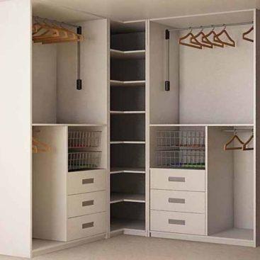 Встраиваемые модули в гардеробную №8