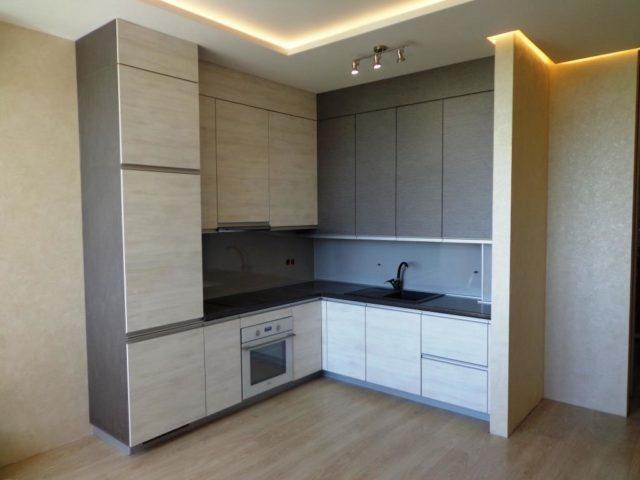 Угловая кухня из ЛДСП EGGER вариант №22