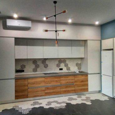 Кухня из ЛДСП вариант №9