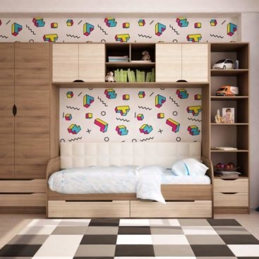 Детская с односпальной кроватью №6