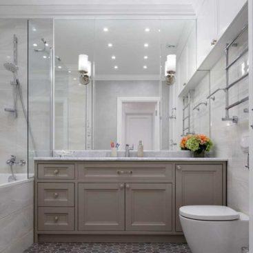 Тумба в ванную в классическом стиле №34