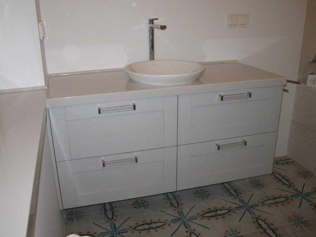 Тумба в ванную подвесная №53