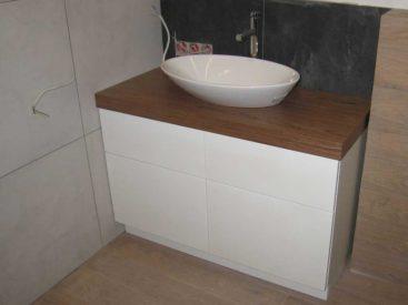 Тумба в ванную с умывальником чаша №60