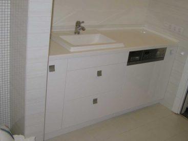 Тумба в ванную ссо стиральной машиной №63