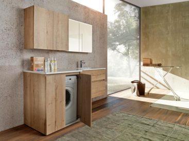 Мебель в ванную вариант №76