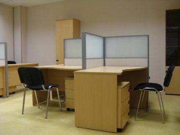 Офисная мебель для персонала с перегородками №30