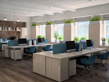 Проект офисной мебели №33