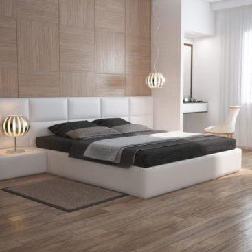 Кровать с прикроватными тумбами №5