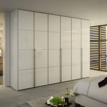 Много-створчатый шкаф с алюминиевым профиле на фасадах №8