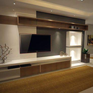 Модульная мебель под ТВ вариант №6